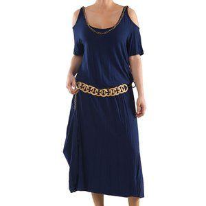 Plus Size Hellenistic Knit Dress - La Mouette